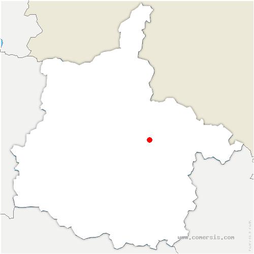 carte de localisation de Saint-Aignan