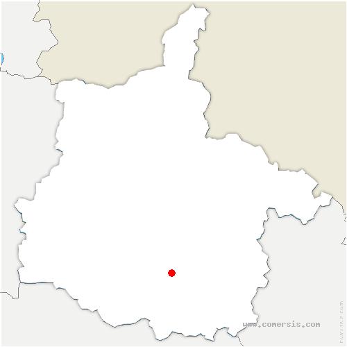 carte de localisation de Vouziers