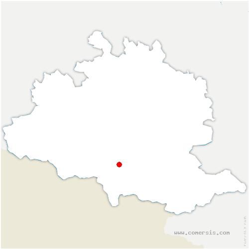 carte de localisation de Val-de-Sos