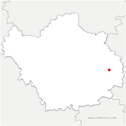 carte de localisation de Bar-sur-Aube