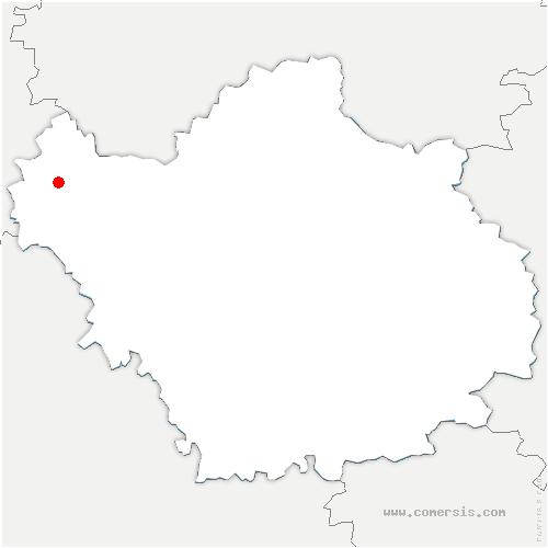 carte de localisation de Nogent-sur-Seine
