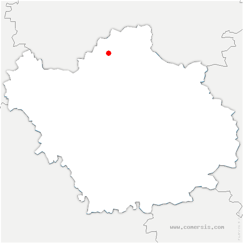 carte de localisation de Plancy-l'Abbaye