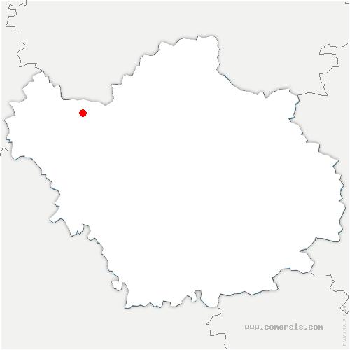 carte de localisation de Romilly-sur-Seine