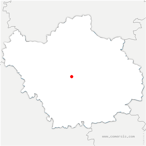 carte de localisation de Saint-Julien-les-Villas