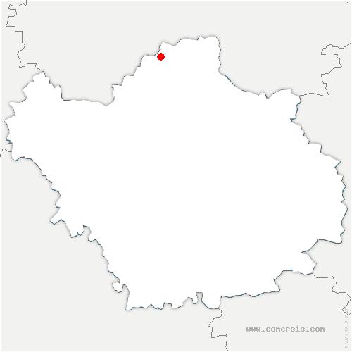 carte de localisation de Salon