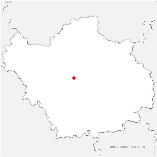carte de localisation de Troyes