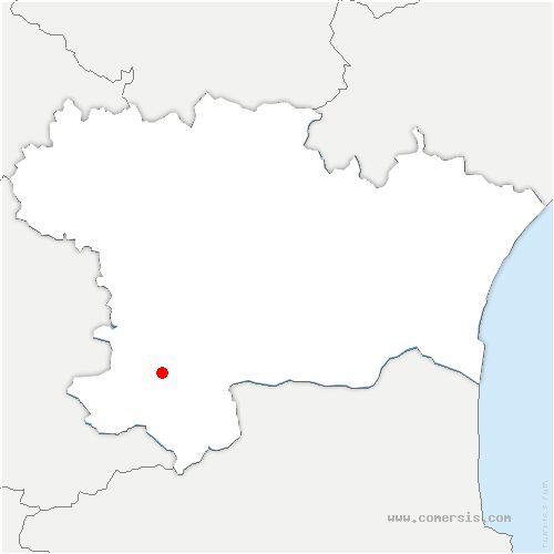 carte de localisation de Quillan