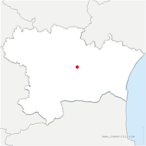 carte de localisation de Val-de-Dagne