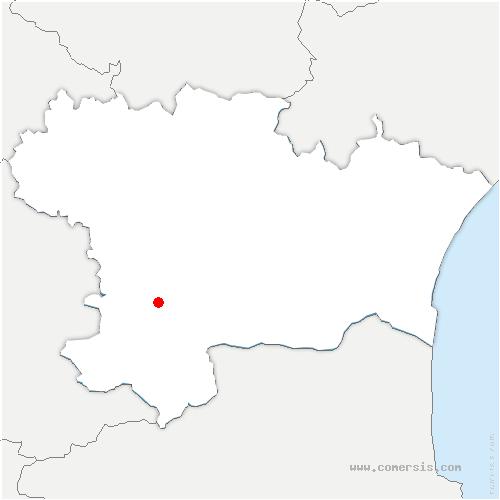 carte de localisation de Val-du-Faby