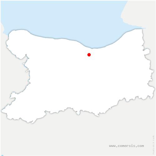 carte de localisation de Amfreville
