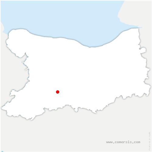 carte de localisation de Culey-le-Patry
