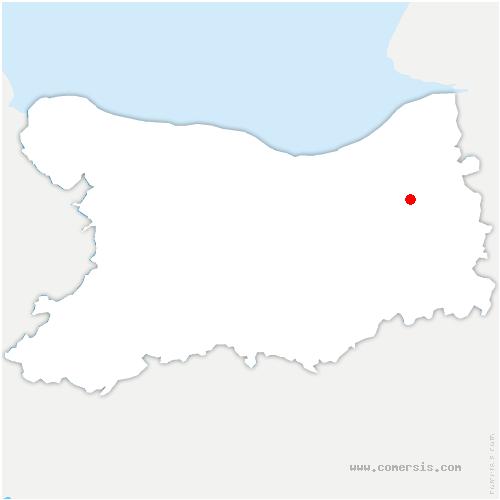 carte de localisation de Formentin