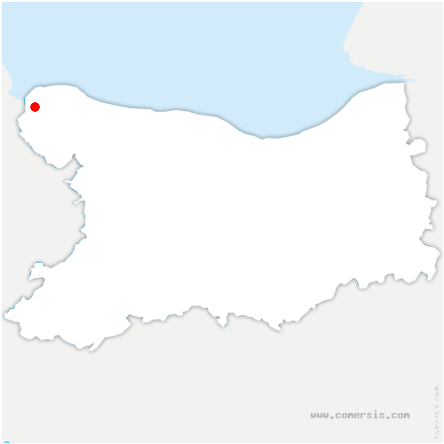 carte de localisation de Osmanville