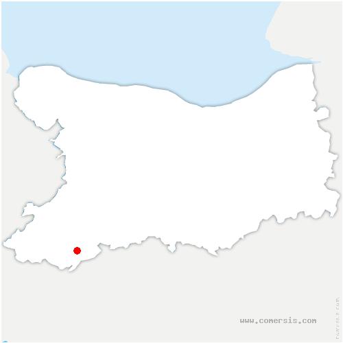carte de localisation de Roullours
