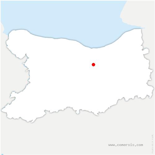 carte de localisation de Saint-Pair