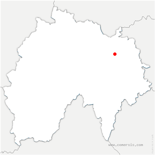 carte de localisation de Joursac