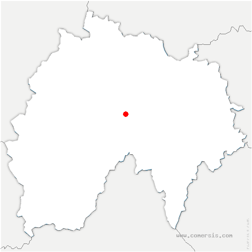carte de localisation de Laveissière
