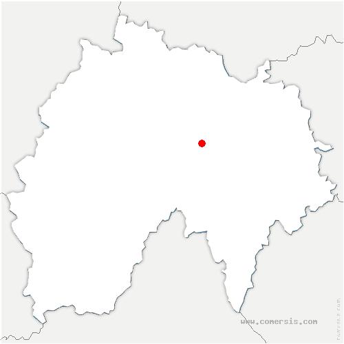 carte de localisation de Murat