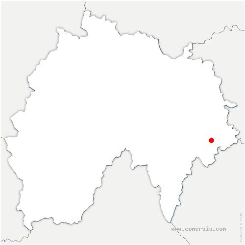 carte de localisation de Val-d'Arcomie