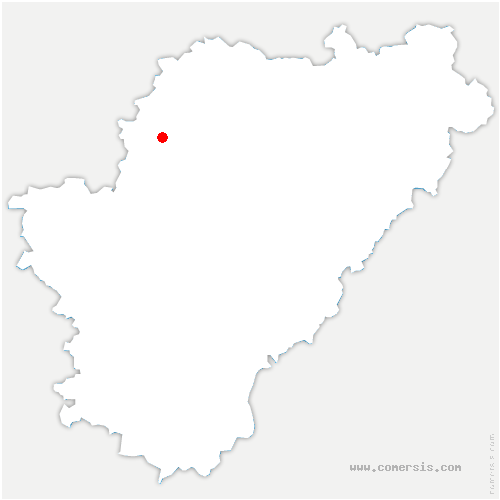 carte de localisation de Aigre
