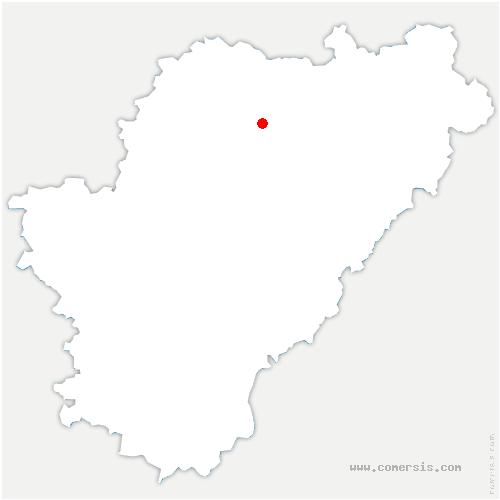 carte de localisation de Aunac-sur-Charente