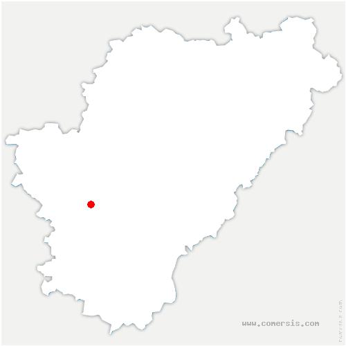 carte de localisation de Bellevigne