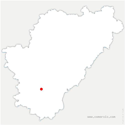 carte de localisation de Bessac