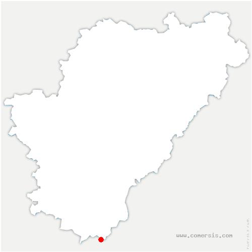 carte de localisation de Bonnes