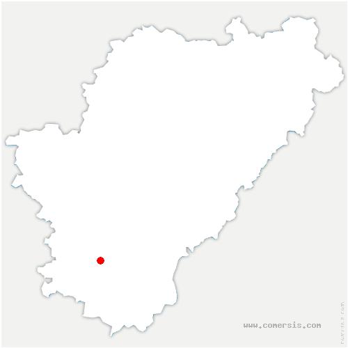 carte de localisation de Brie-sous-Barbezieux