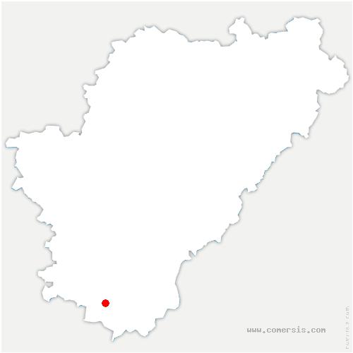 carte de localisation de Brossac