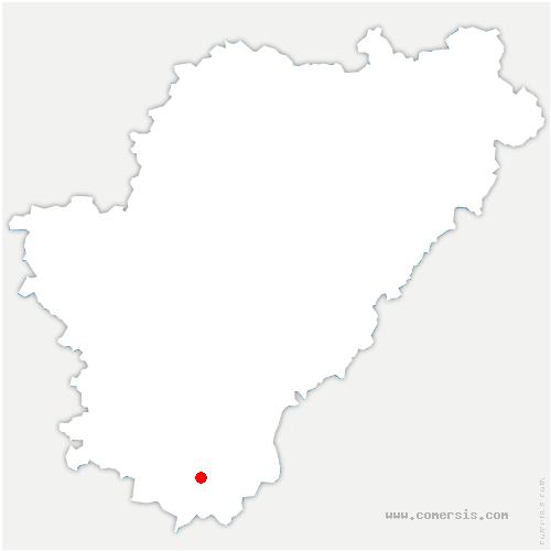 carte de localisation de Chalais