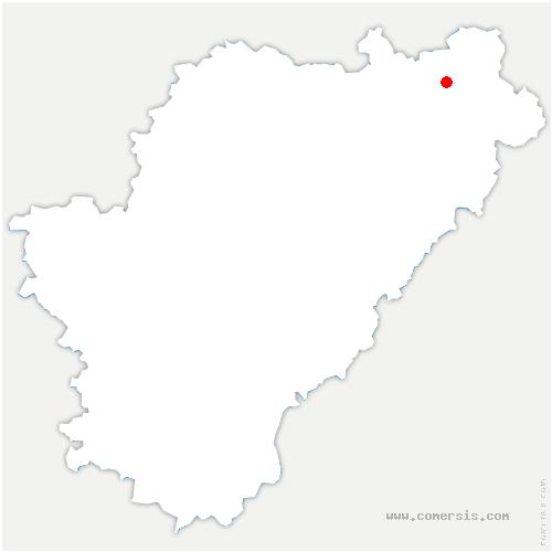 carte de localisation de Confolens