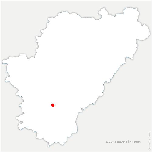 carte de localisation de Coteaux-du-Blanzacais