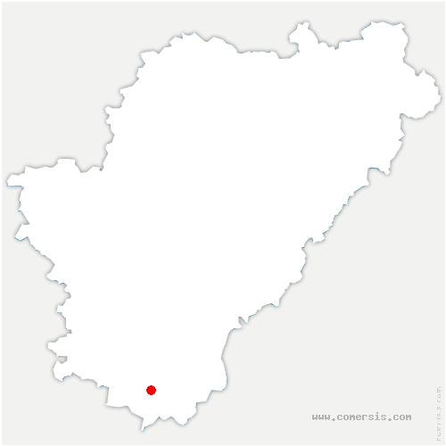 carte de localisation de Curac