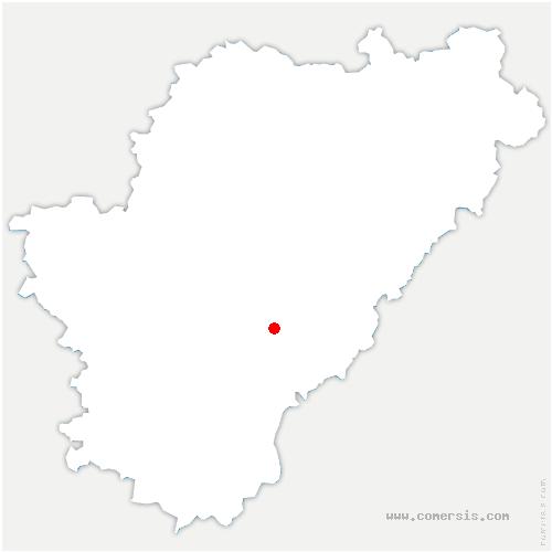 carte de localisation de Dignac