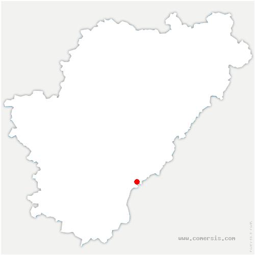 carte de localisation de Gurat