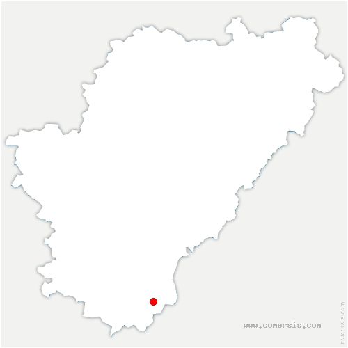 carte de localisation de Laprade