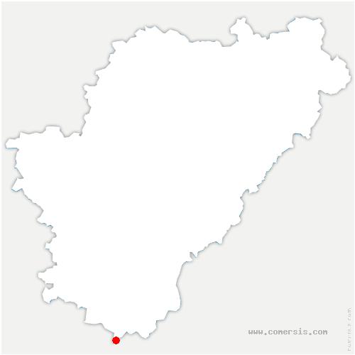 carte de localisation de Médillac
