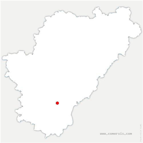 carte de localisation de Montmoreau