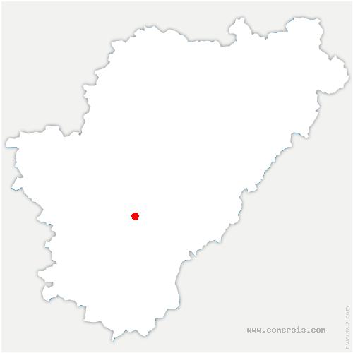 carte de localisation de Mouthiers-sur-Boëme