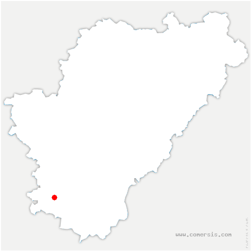 carte de localisation de Oriolles