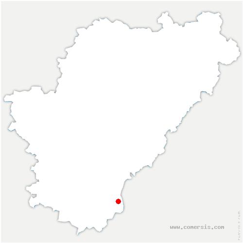 carte de localisation de Palluaud