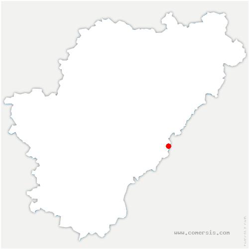 carte de localisation de Pérignac