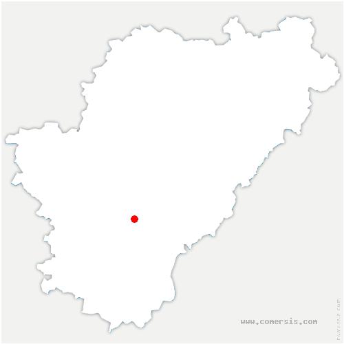carte de localisation de Plassac-Rouffiac