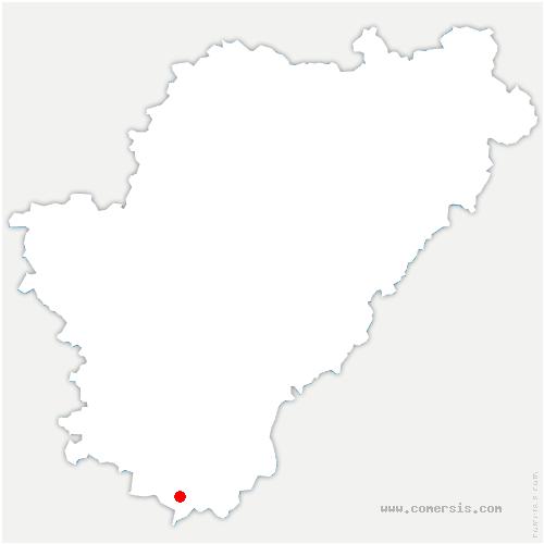 carte de localisation de Rioux-Martin