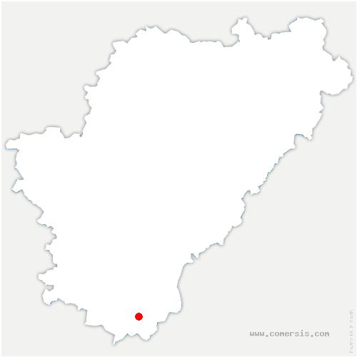 carte de localisation de Rouffiac