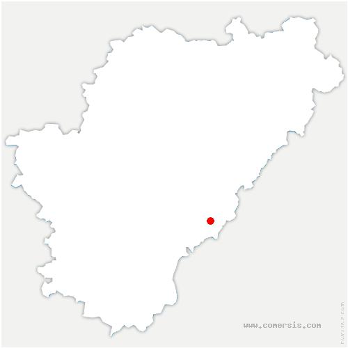 carte de localisation de Rougnac