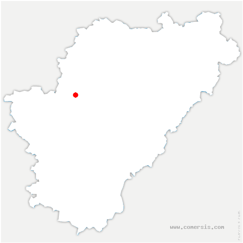 carte de localisation de Rouillac