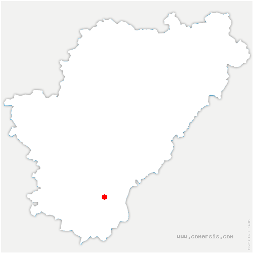 carte de localisation de Saint-Amant-de-Montmoreau