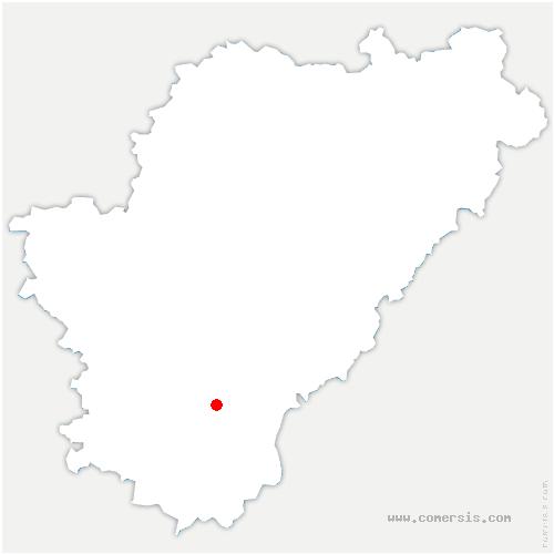 carte de localisation de Saint-Eutrope